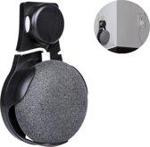 Google home mini muurhouder (stopcontact) - Nederlandse versie - zwart