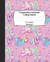 Unicorn Soft Cover Composition Notebook