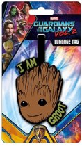 Marvel Guardians Of The Galaxy Groot Baggage Tag