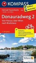 Kompass FK7004 Donauradweg 2, Von Passau über Wien nach Bratislave FK7004