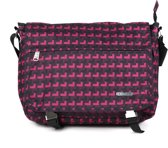 Adventure Bags Messenger - Uni - Small - Paars Print