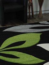 """""""tapeso Florida - Vloerkleed - 200x290 cm - Synthetisch - Groen"""""""