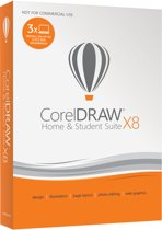 CorelDRAW Home & Student Suite X8 - 3 Apparaten - Nederlands / Frans - Windows