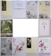 Rouwkaarten - Condoleance kaarten - Set van 10--L-055