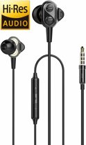 UiiSii DT800 Zwart - Hi-Res in-ear oortjes van professionele studio kwaliteit - Dual Balan
