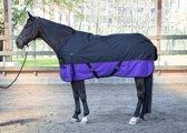Harry's Horse Regendeken Thor 300 195cm Jet-black (zwart)