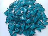 Mozaiek Steentjes Soft Triangles Aqua