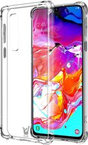 Samsung Galaxy A70 Hoesje - Transparant Shockproof Case - iCall