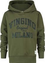Vingino Jongens Trui - Olive Night - Maat 164