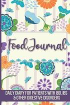 Food Journal: Daily Food Diary, Log and Tracker for Patients with IBD, IBS and Other Digestive Disorders