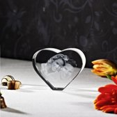 foto in Viamant  glas hart 3D