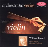 Orchestral Excerpts for Violin