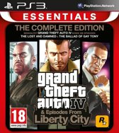 Grand Theft Auto Complete (Iv + Episodes From Liberty City) (EU) (PS3)
