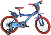 Dino Spider-man Homecoming - Fiets - Jongens - Blauw - 16 Inch