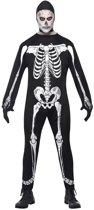 Halloween skelet kostuum voor volwassenen 48-50 (M)