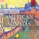 American Piano Sonatas - Copland, Ives, Carter, Barber et al / Peter Lawson