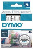 DYMO S0720920 labelprinter-tape Zwart op zilver