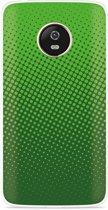 Motorola Moto G5 Plus hoesje groene cirkels