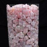 Rozekwarts Kristal Ruw - Groothandel Partij Stenen/Stukken van 0,5 tot 4kg - Topkwaliteit - 500KG
