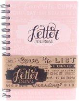 Bullet journal 'My Letter Journal' Blossom