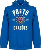 Porto Established Hooded Sweater - Blauw - S