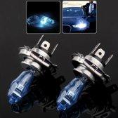 HOD H4 Halogeenlamp, Super witte autokoplamp, 12 V, 90 / 100W, 6000K 2400 LM (paar)