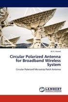Circular Polarized Antenna for Broadband Wireless System