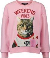 Coolcat Trui Sweater Dvibes - Roze - 110/116