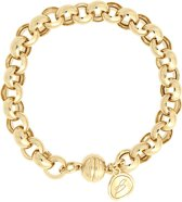 Bronzallure Rolò Bracelet with Magnetic Clasp Yellow Gold (WSBZ00641Y)