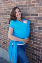 Boba Wrap  Rekbare draagdoek Turquoise