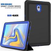 Samsung Galaxy Tab A 10.5 Bumper Case met Smart Cover Blauw