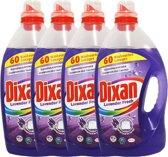 Dixan Gel Vloeibaar Color Wasmiddel - 4 x 3 liter lavendel fresh 240 Wasbeurten - voordeelverpakking