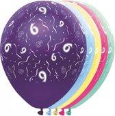 Leeftijd ballonnen 6 jaar