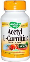 Acetyl L-Carnitine Nature's Way 60v-caps