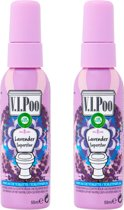 Air Wick VIPoo Lavendel Superstar - 2 x 55 ml