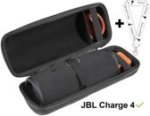JBL Charge 4 Hoes + Clip! , specifiek voor De JBL charge 4 Bluetooth Speaker - Speakerhoes Hoes Hoesje Travel Hard Case Zwart Beschermhoes C4