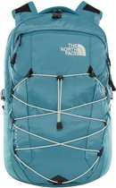The North Face Borealis Backpack 15 inch storm blue / vintage white
