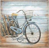 Wanddecoratie (Fiets) 80*80*6 cm Multi | JJWA00085 | Clayre & Eef