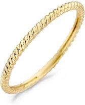 Blush 14 Karaat Gouden Ring (Maat: 52) - goud