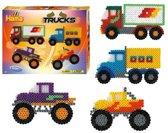 Hama Strijkkralen Vrachtwagens - multicolor
