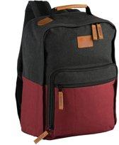 Nomad College Daypack Rugzak - 20L - Deep Red/Phantom