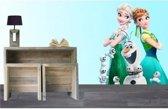 Frozen Elsa, Anna en Olaf - Muursticker