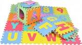 XXL Speelkleed 86 delig - Puzzelmat – Speelmat – Speeltapijt - 36 tegels