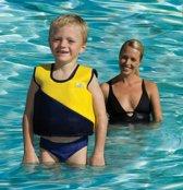 Swim Trainer Jacket size 1 (1-2 yr,) geel /blauw