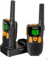 Audioline PMR 46 Walktie talkie - Zwart