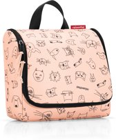 Reisenthel Toiletbag Toilettas 3L - Cats&Dogs Rose