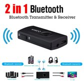 Bluetooth receiver / Bluetooth Transmitter voor o.a. TV en auto | Bluetooth 4.2