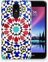 LG K4 (2017) TPU Hoesje Design Mozaïek