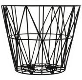 Ferm Living Wire Basket opbergmand zwart small