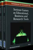Handbook of Research on Serious Games as Educational, Business and Research Tools